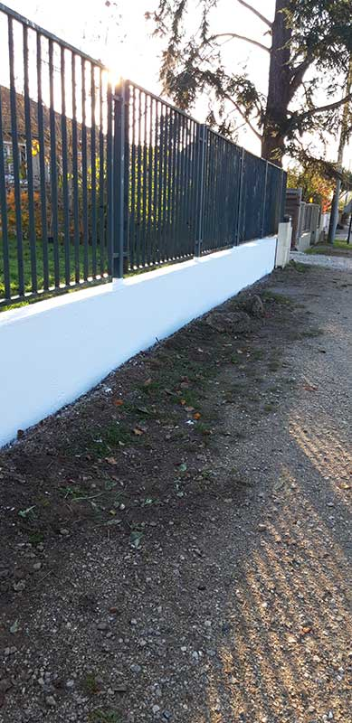 Peinture clôture Rambouillet